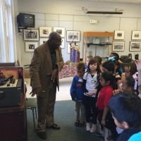 Pinellas County school students tour the Pinellas African American Museum
