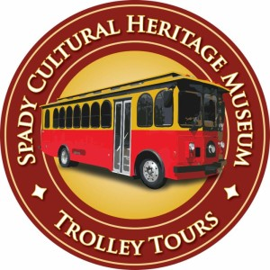 Ride and Remember Historic Trolley Tour logo