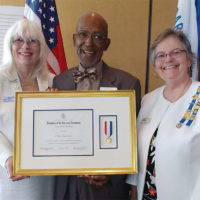 DAR National Medal of Honor presented to Clifton Lewis