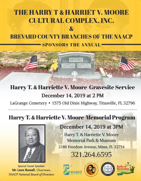 Annual Harry T. & Harriette V. Moore Gravesite Service