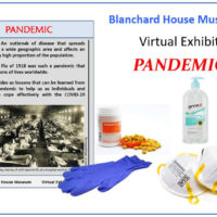 Blanchard House Museum new virtual exhibit – PANDEMIC