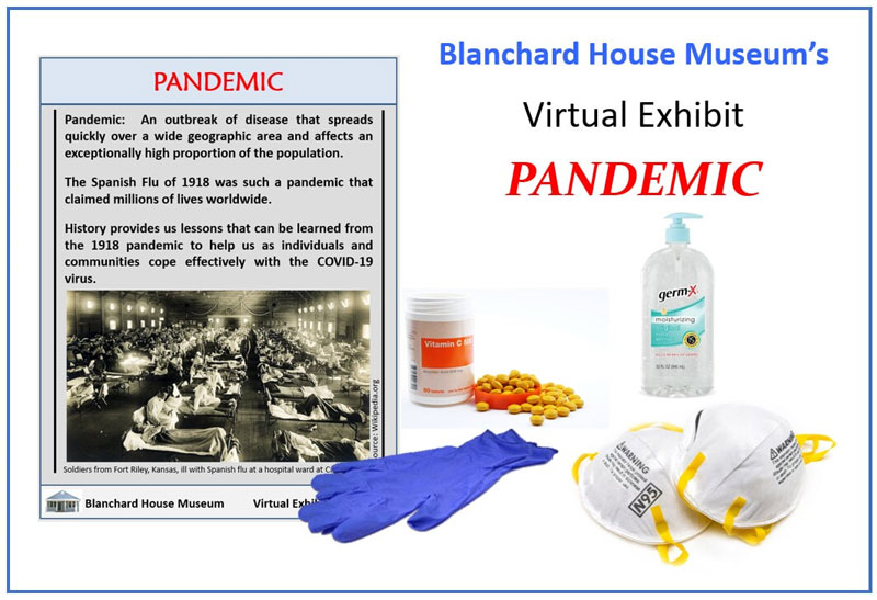 Blanchard House Museum virtual exhibit