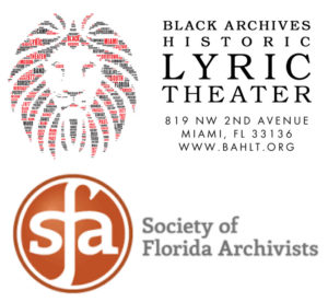 Black Archives and Society of Florida Archivists logos