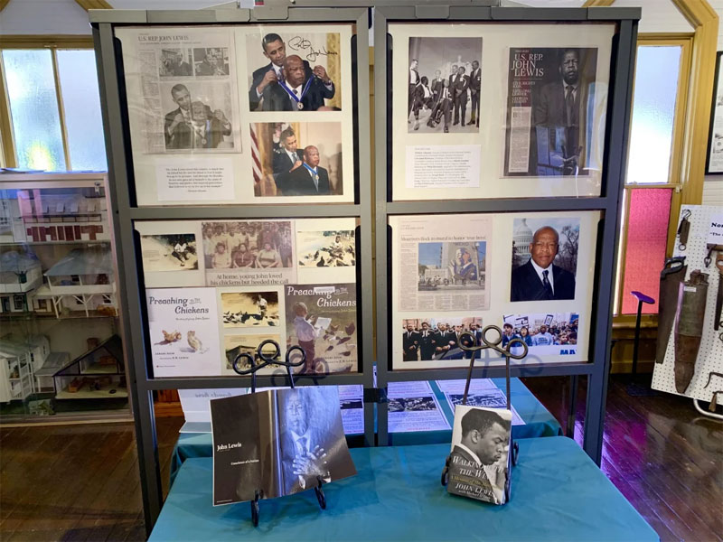 John Lewis exhibit