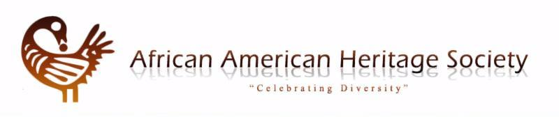 African American Heritage Society banner