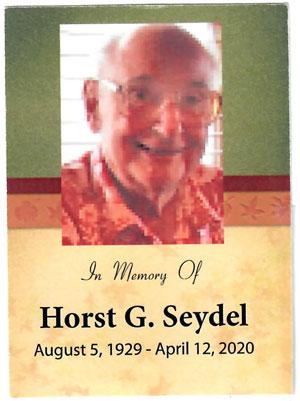 Horst Seydel