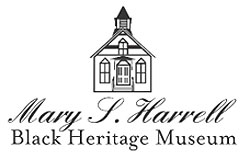 Mary S. Harrell Black Heritage Museum logo