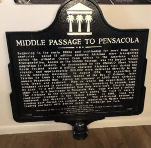 middle passage historic marker